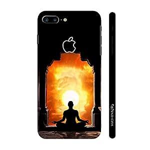 Enthopia Designer Hardshell Case Meditation Temple Back Cover for Apple iPhone 7 Plus with Apple Hole