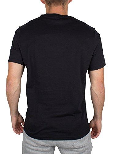 Converse - Mens Reflective Rain Pocket Tee Black Logo T-Shirt Black