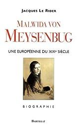 Malwida von Meysenbug (1816-1903) : Une Européenne du XIXe siècle