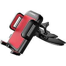 Soporte Móvil Coche CD Slot de Mpow,Soporte de Teléfono Universal para Ranura de CD Giratorio 360 ° con Botón de Liberación de un Sólo Clic para iPhone 7 / 7plus, LG G5, Nexus 5X / 6 / 6P y Otros Smartphones