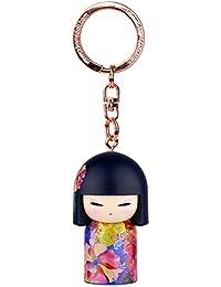 Porte clé Kokeshi Kimmidoll 5cm Kyoka - joie