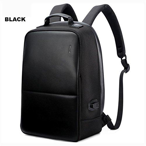 Multifunzione Stoffa Oxford zaino furto 17 pollici Laptop pacchetto Con porta USB di ricarica , black medium 751-006431