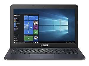 Asus EeeBook E402WA-GA001T 2017 14-inch Laptop (Quad Core E2-6110/4GB/500GB/Windows 10 64bit/Integrated Graphics), Dark Blue