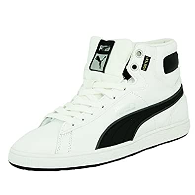 Puma FIRST ROUND L GORE-TEX Chaussures Mode Sneakers Homme Cuir Blanc PUMA T:45
