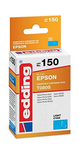 edding-18-150-druckerpatrone-edd-150-ersetzt-epson-t0805-einzelpatrone-photo-cyan