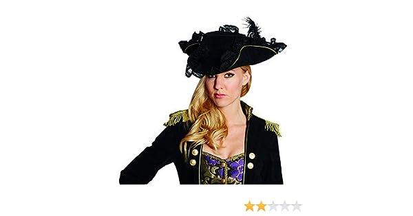 Piratenhut für Kinder Größe 54 Accessoire Karneval Halloween Seeräuber