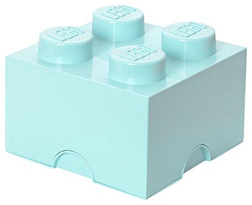Mattoncino-contenitore Lego a 4 Bottoncini, Contenitore Impilabile, 5,7 Litri, Acqua & Lego Brick Mattoncino Bottoncini… 1 spesavip