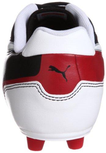 Puma Universal FG Herren Fußballschuhe Schwarz (black-white-ribbon red 02)