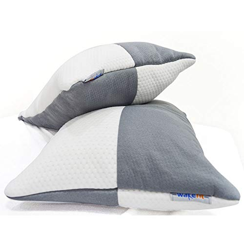 "Wakefit Sleeping Pillow (Single Piece) - 27"" x 16"""
