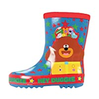 Hey Duggee Boys Thick Rubber Wellingtons (10 UK Child)