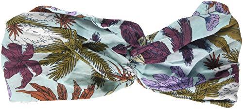 Barts Damen Easy Headband Stirnband, Mehrfarbig (Light Blue 4), One Size (Herstellergröße: UNIC) - Light Blue Bandana