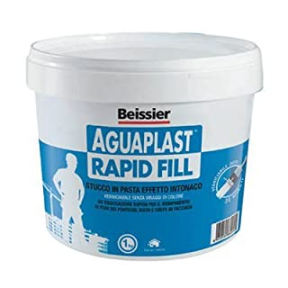 aguaplast Rapid Fill kg.1Pasta–Stucco in Pasta Effect Plaster, Paintable in 30Min, Ideal for Closure Holes, Holes and Crepe