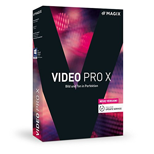 Magix Video Pro X | Version 9 | Preisgekrönte Software für professionelle Videobearbeitung (Pro Video-editing-software)
