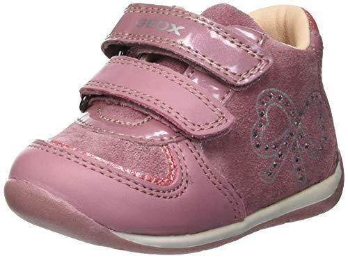 Geox B Each Girl B, Zapatillas para Bebés, (Pink C8004), 21 EU