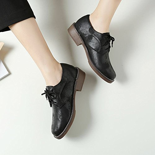 Zapatos Misssasa Donna Low Heel Black