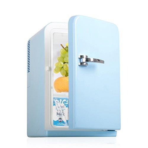 Car refrigerator-TOYM 15L Auto Kühlschrank Mini Kühlschrank Mini Kleine Startseite Hostel Cooler Dual Milch Brust Kosmetik Kühlschrank - Mit Kühlschrank Gefrierfach Brust,
