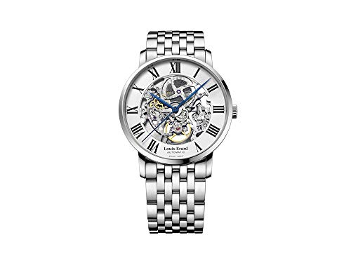 Louis Erard Excellence Automatic Watch, White Skeleton, 61233AA22.BMA35
