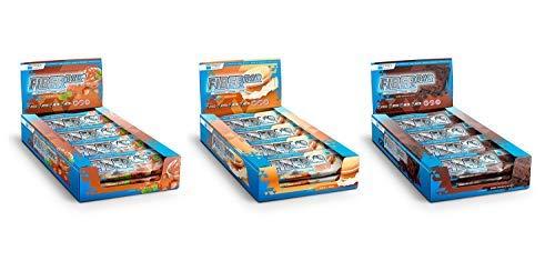 Frey Nutrition Fiber Bar Riegel 12 x 60g Riegel Mix-Box -
