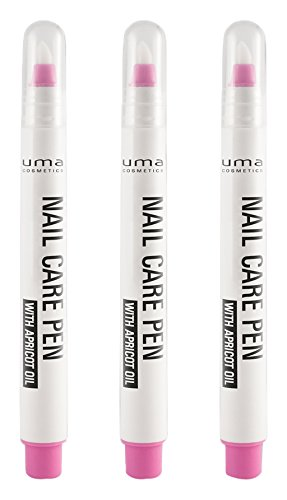 uma cosmetics Nail Care Pen with apricot oil, 3er Pack