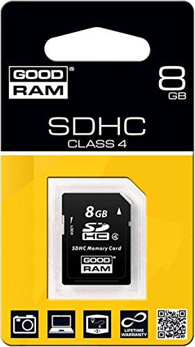 GOODRAM SD C4SDHC-Speicherkarte 8GB S400 Memory Card