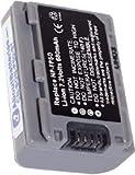 Batterie type SONY NP-FP50, 7.2V, 750mAh, Li-ion