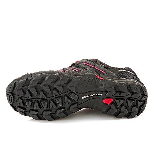 Salomon L38139900, Scarpe da Escursionismo Donna Grigio