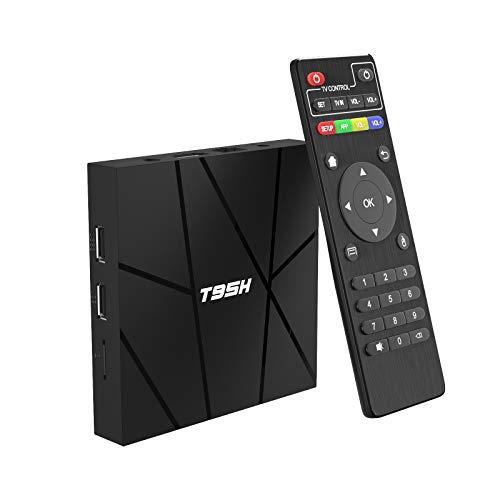 Oferta de Android TV Box, Android 10.0 TV Box H616 Quad Core corex-A53 1GB RAM 8GB ROM Support 3D 6K Ultra HD H.265 WiFi 2.4GHz Ethernet HDMI Smart TV Box