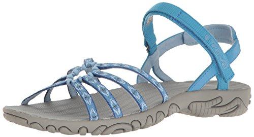 Teva Damen Kayenta W's Sandalen Trekking-& Wanderschuhe, Blau (Carmelita Blue Cltb), 38