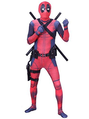 Carswill Spandex Kostüm für Erwachsene Cosaply Zubehör Halloween -