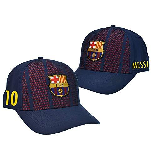 Gorra FC. Barcelona - Producto Oficial Licenciado - Player Messi-18 - Talla Adulto ajustable - Si tuviera alguna duda póngase en contacto con nosotros.