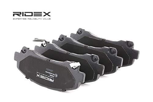 Ridex 402B0923 - Kit pastiglie freno a disco
