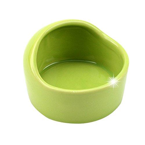 JOMNM hámster Cuenco Cerámica Cute Food Water comida para animales pequeños ratones gerbillinae cobaya