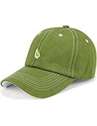 WOINNDJK Capota De Lona De Algodón Cap Verde Aguacate Perdonar Cap Bordado Viento Libre Baseball Hat