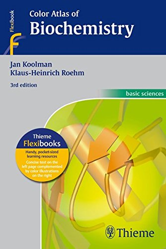 Color Atlas of Biochemistry por Jan Koolman