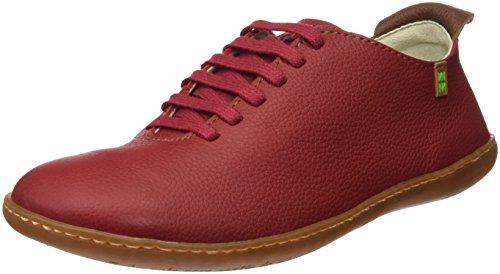 Inyectados Y Vulcanizados S.A  N296 Soft Grain El Viajero, chaussures Derby mixte adulte Rouge (Tibet)