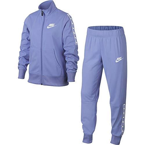 Nike Nike G Nsw Trk Tricot Trainingsanzug, Violett (twilight pulse/White), XS