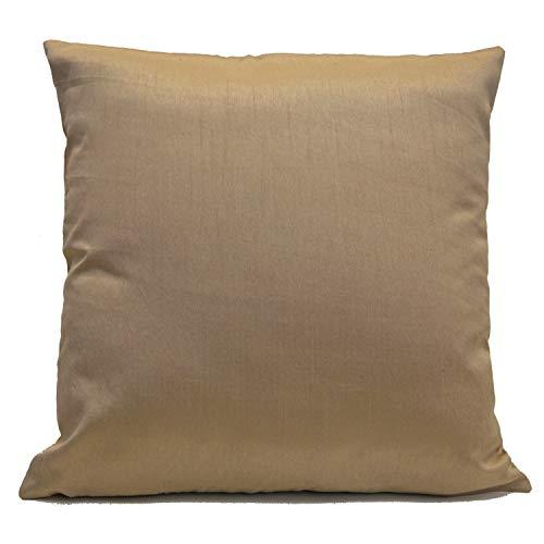 ZonaloDutt Light Tan Beige Kissenbezug Dekokissenbezug Dekorative Kissenbezug Kissenbezug Kissenbezug Accent Pillow Toss PillowSilk Blend -