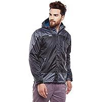 Trekmonk Men's Black Snow Shell Jacket Medium