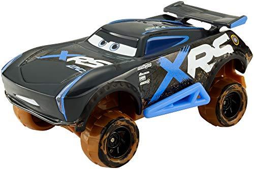 Mattel GBJ38 - Disney Cars Xtreme Racing Serie Schlammrennen Die-Cast Auto Fahrzeug Jackson Storm, Spielzeug ab 3 Jahren