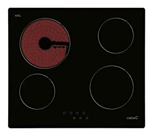 cata t604 glaskeramikkochfeld ceran glaskeramik kochfeld autark ceranfeld kochplatte 60 cm mit. Black Bedroom Furniture Sets. Home Design Ideas