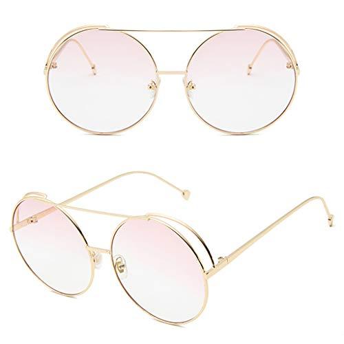 Yanhonin Sonnenbrille, Männer und Frauen, Brille mit rundem Rahmen 4