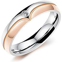 Freundschaftsringe rosegold  Suchergebnis auf Amazon.de für: Rose Gold Verlobungsringe