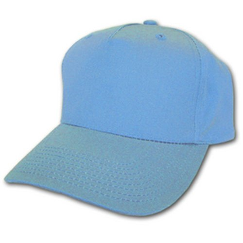 Unknown - Casquette de Baseball - - Uni Homme Réglable - Bleu - Bleu ciel - Taille unique