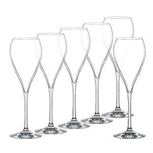 Spiegelau Partie de 6 flûtes à Champagne