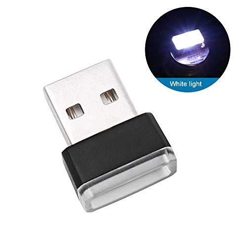 JKABCD Formato Mini Auto Lampada al Neon a LED, Illuminazione Interna Auto Atmosfera Luce Auto Interni Auto Decorative Jewelry