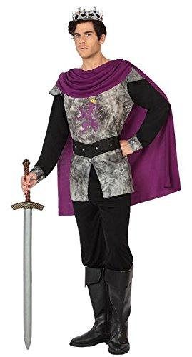 ATOSA-26844-Kostüm für Erwachsene-mittelalterlichen Krieger-T-2