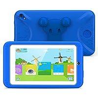 M07R7 Kids Tablet 1GB Ram 8GB Rom Allwinner A33 Quad Cortex-A7@1.2Ghz Android 6.0 7 inch 1 (Wifi & bluetooth, Front & Rear Camera, Playstore, Youtube, Google, IWAWA) Kid-Proof Case
