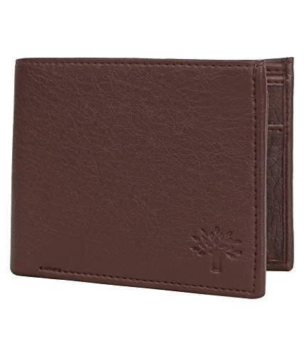 Woodland Leather Brown Men's Wallet  available at amazon for Rs.221