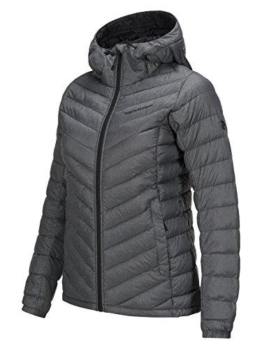 Peak Performance W Melange Frost Down Liner Jacket Dk Grey Mel - S