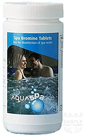 Happy Hot Tubs Bromine Tablets 1kg Hot Tub Spa Tubs Swimming Pool Spas